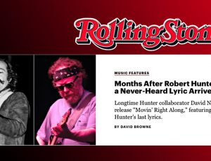 'Movin' Right Along' release noted in Rolling Stone